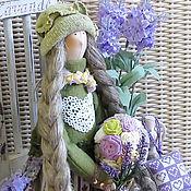 Куклы и игрушки ручной работы. Ярмарка Мастеров - ручная работа Варвара Лавандовая интерьерная кукла. Handmade.