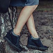 Обувь ручной работы. Ярмарка Мастеров - ручная работа Кеды на танкетке Pump. Handmade.
