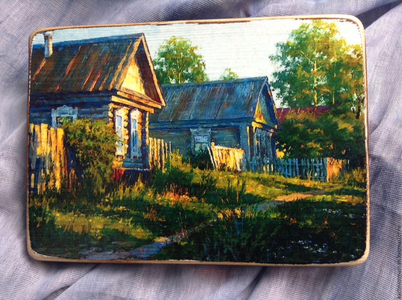 Родная деревня, Картины, Клин, Фото №1