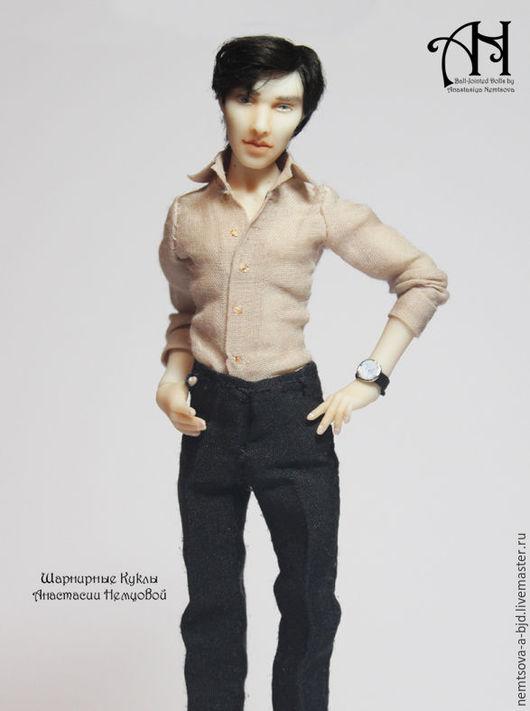 Коллекционные куклы ручной работы. Ярмарка Мастеров - ручная работа. Купить Шерлок (1) и (2) (13,5см). Handmade.