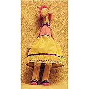 Куклы и игрушки ручной работы. Ярмарка Мастеров - ручная работа Жирафа Принцесса. Handmade.