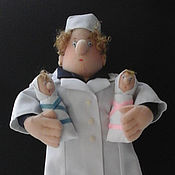 Подарки к праздникам ручной работы. Ярмарка Мастеров - ручная работа Детский доктор. Handmade.