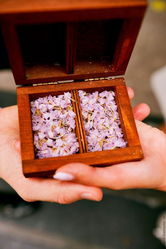 Magic box for Wedding rings