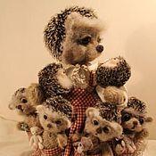 """Куклы и игрушки ручной работы. Ярмарка Мастеров - ручная работа """"Миссис Хейдж  и ее дети"""". Handmade."""