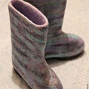"""Обувь ручной работы handmade. Livemaster - original item Валенки """"Немного сказки"""". Handmade."""