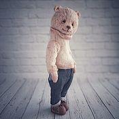 Мишки Тедди ручной работы. Ярмарка Мастеров - ручная работа Мишки Тедди: Мишка Роб. Handmade.