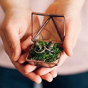 handmade. Livemaster - original item Jewelry box for engagement rings. Handmade.