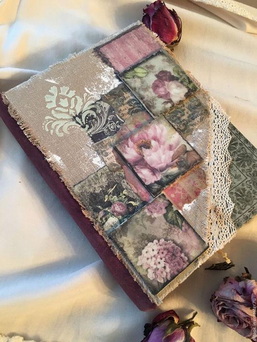 Блокноты ручной работы. Ярмарка Мастеров - ручная работа. Купить Блокнот в стиле Mixed Media. Handmade. Комбинированный, блокнот в подарок