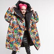 Одежда handmade. Livemaster - original item Down jacket-cocoon