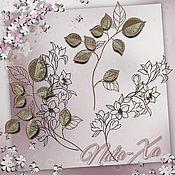 Материалы для творчества handmade. Livemaster - original item Autumn Coolness. Set №1. Designs for machine embroidery.. Handmade.