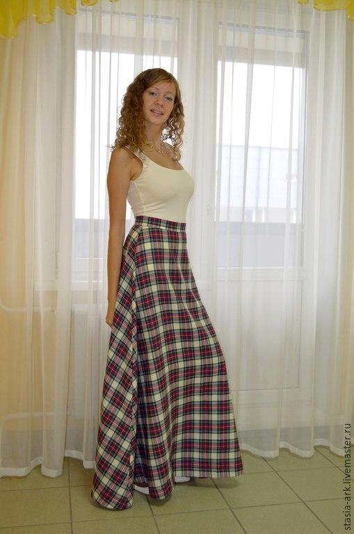 Тёплые юбки макси купить