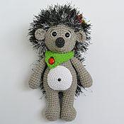 Куклы и игрушки handmade. Livemaster - original item hedgehog Ray-toy, crochet. Handmade.
