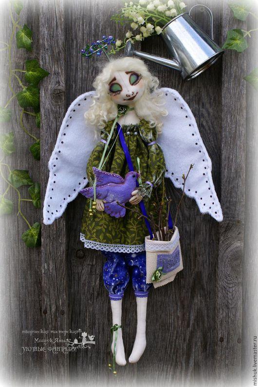 Сказочные персонажи ручной работы. Ярмарка Мастеров - ручная работа. Купить ангел хранитель Душевное спокойствие. Handmade. ангел, нимб