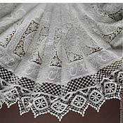 Материалы для творчества handmade. Livemaster - original item Incredibly beautiful lace embroidery 100% cotton, Catherine. Handmade.