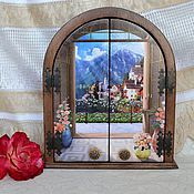 Для дома и интерьера handmade. Livemaster - original item The housekeeper is wooden with two doors Early in the morning. Handmade.