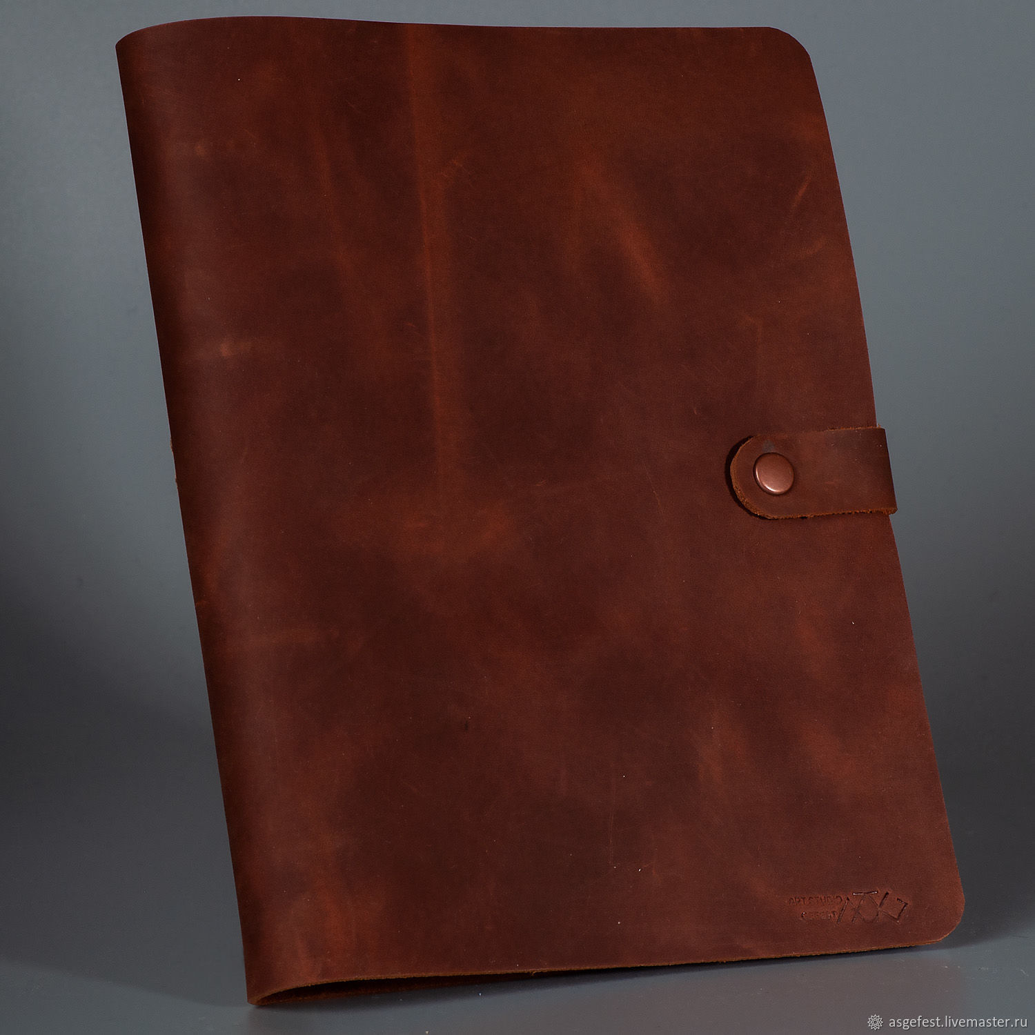 Diary on rings made of genuine leather, Diaries, Moscow,  Фото №1