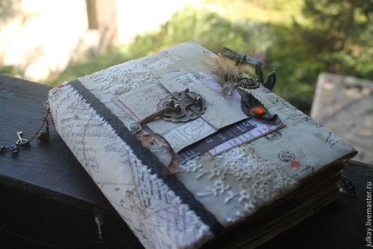 """Блокноты ручной работы. Ярмарка Мастеров - ручная работа. Купить Блокнот ручной работы """"Мои воспоминания """". Handmade. Разноцветный"""