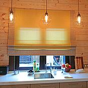 Для дома и интерьера ручной работы. Ярмарка Мастеров - ручная работа Римская беж с горчицей в современном стиле. Handmade.