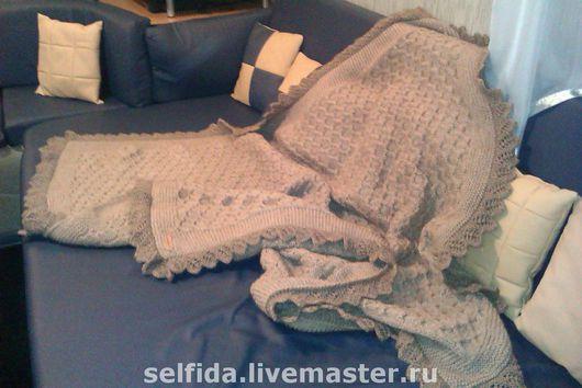 Текстиль, ковры ручной работы. Ярмарка Мастеров - ручная работа. Купить Плед терапевтичный. Handmade. Плед, шерстяной плед