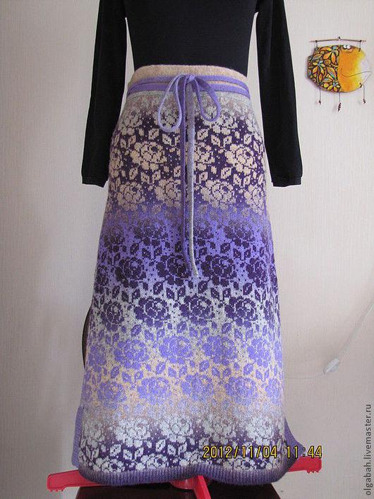 Юбки ручной работы. Ярмарка Мастеров - ручная работа. Купить юбка Тоомас. Handmade. Цветочный, шерсть 100% кауни