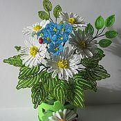 Цветы и флористика ручной работы. Ярмарка Мастеров - ручная работа Просто ромашки. Handmade.