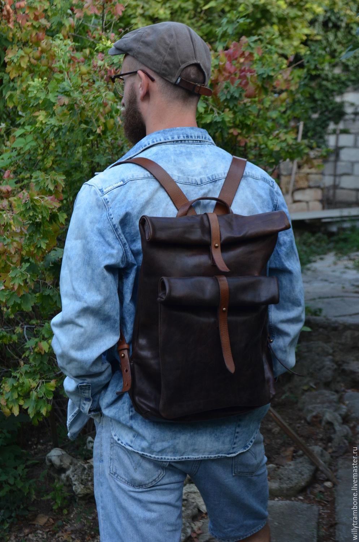 Рюкзак скрутка выкройка 26