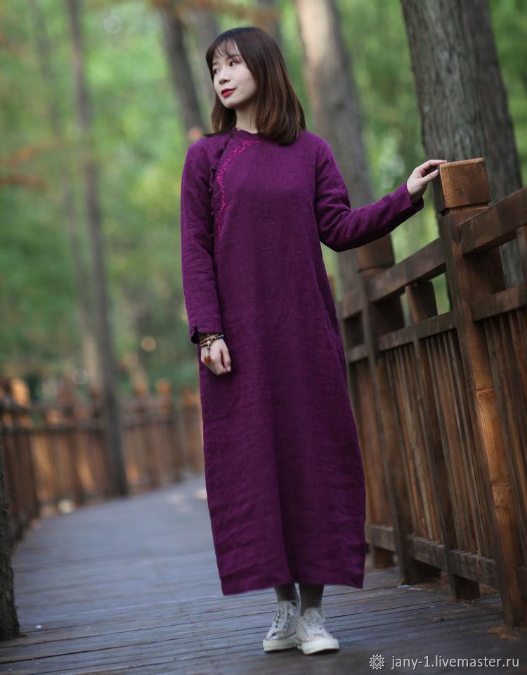 Оригинальное фиолетовое платье, Юбки, Гуанчжоу,  Фото №1