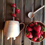 """Сервизы ручной работы. Ярмарка Мастеров - ручная работа Набор для завтрака """"Летнее настроение"""". Handmade."""