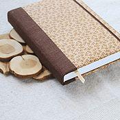 Канцелярские товары handmade. Livemaster - original item Notepad with fabric cover / Sketchbook / Diary. Handmade.