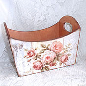 Для дома и интерьера handmade. Livemaster - original item Box storage Retro Rose. Handmade.