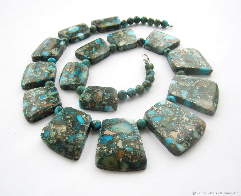Beautiful necklace'Variscite', Necklace, Feodosia,  Фото №1