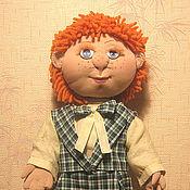 Куклы и игрушки ручной работы. Ярмарка Мастеров - ручная работа кукла текстильная Антошка. Handmade.