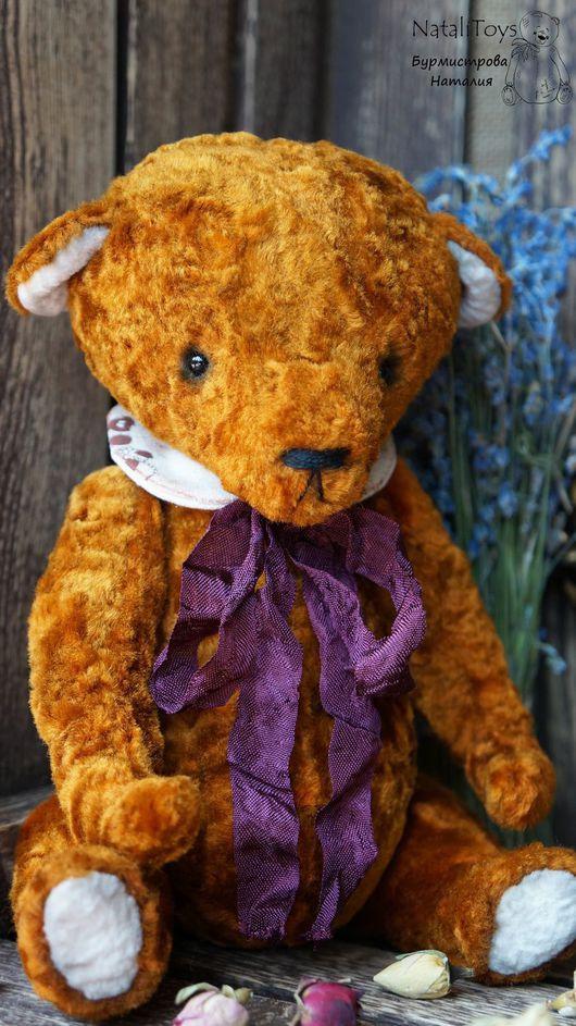 Мишки Тедди ручной работы. Ярмарка Мастеров - ручная работа. Купить Мишка тедди Тоби (Ароматный). Handmade. Коричневый, тедди