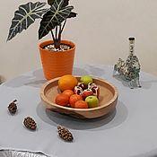 Деревянная посуда Блюдо из платана
