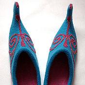 """Обувь ручной работы. Ярмарка Мастеров - ручная работа Тапочки """"Шахерезада"""". Handmade."""
