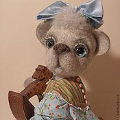Куклы и игрушки ручной работы. Ярмарка Мастеров - ручная работа Мишка-тедди Агаша. Handmade.