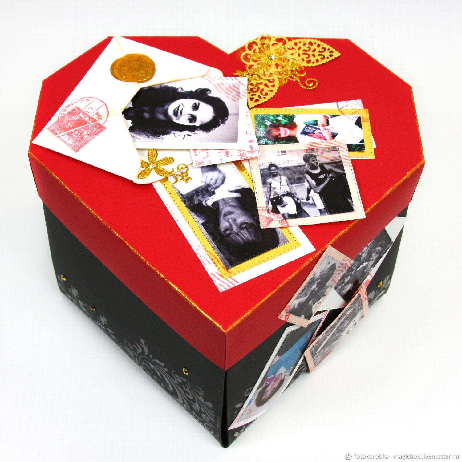 Photo Album 'Heart', Packing box, Moscow,  Фото №1