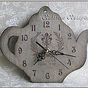 """Для дома и интерьера ручной работы. Ярмарка Мастеров - ручная работа Часы """"Королевская лилия"""". Handmade."""