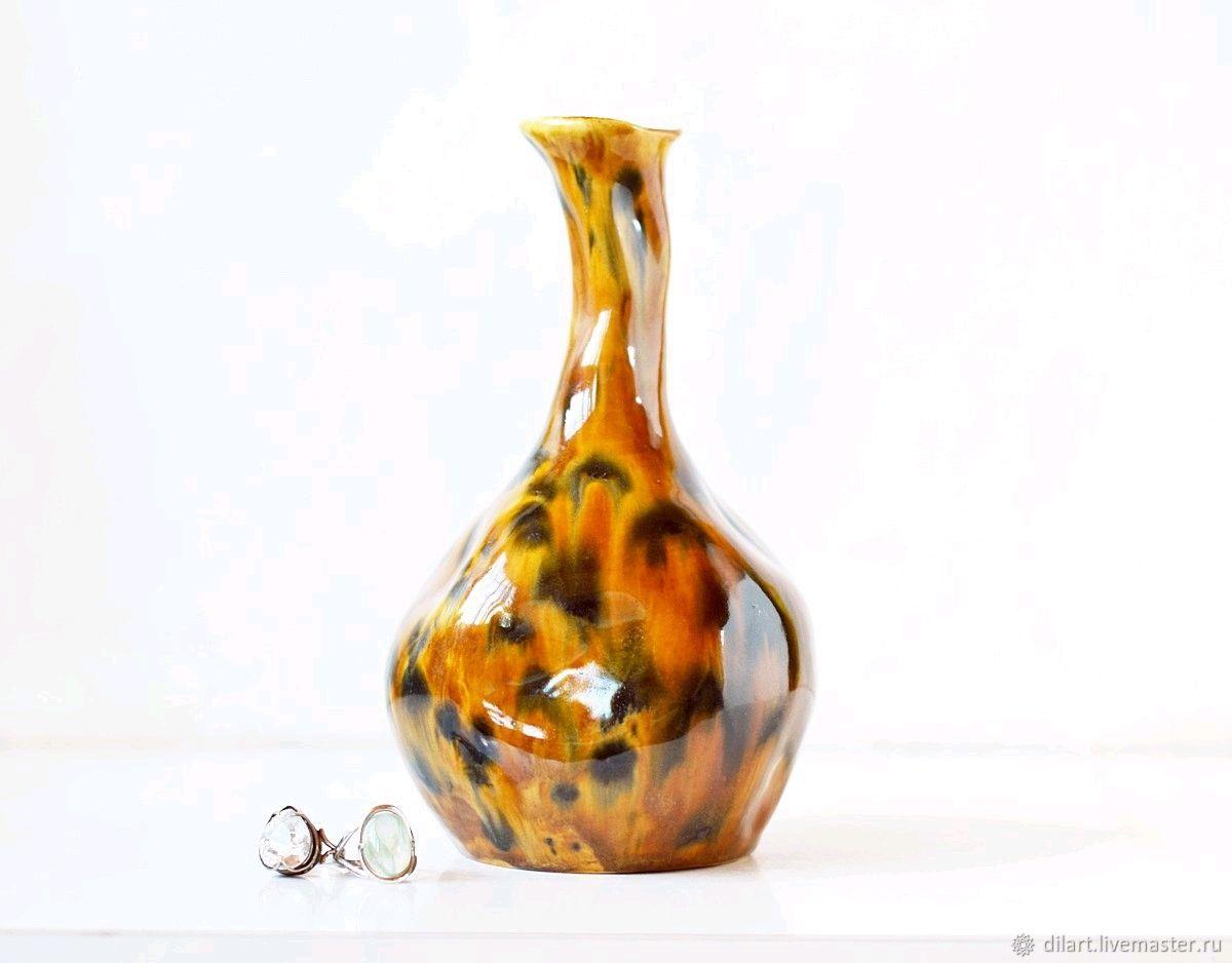Интерьерная керамическая ваза Африка, Вазы, Москва,  Фото №1