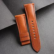 Украшения handmade. Livemaster - original item Calf leather watchband (01). Handmade.