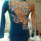 Одежда handmade. Livemaster - original item Leotard for rhythmic gymnastics. Handmade.