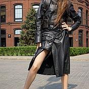 Одежда handmade. Livemaster - original item Leather Coat. Handmade.