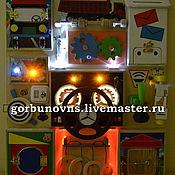 Куклы и игрушки handmade. Livemaster - original item Basebord Educational Module Board