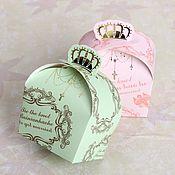Свадебный салон ручной работы. Ярмарка Мастеров - ручная работа Бонбоньерка викторианская мятная. Handmade.