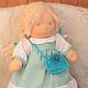 Вальдорфская кукла ручной работы. Катенька 28 см . SolarDolls, (Julia Solarrain)