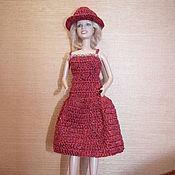 Куклы и игрушки ручной работы. Ярмарка Мастеров - ручная работа платье для барби. Handmade.