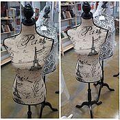 Материалы для творчества handmade. Livemaster - original item Hemline Paris mannequin. Handmade.
