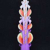 Сувениры и подарки ручной работы. Ярмарка Мастеров - ручная работа Резные свечи  25см. можете купить резные свечи оптом. Handmade.