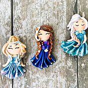 Украшения handmade. Livemaster - original item Brooches dolls