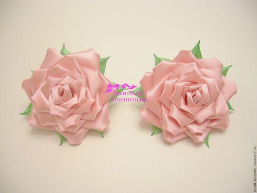 Комплект резиночек `Розочка` 6-7 см - 450 руб.